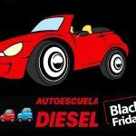 Oferta para sacarse el carnet de conducir en Black Friday