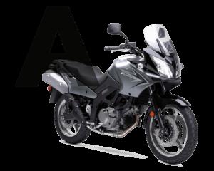 Matrícula permiso de conducir moto A en Zaragoza